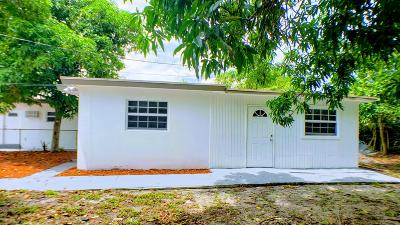 Fort Lauderdale Rental For Rent: 1220 NW 1 Avenue #Rear