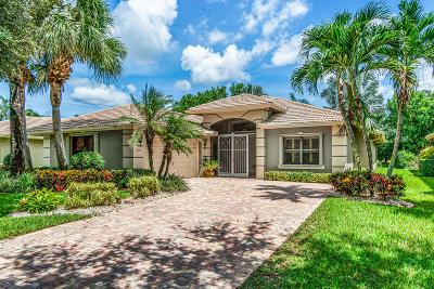 Boynton Beach Single Family Home For Sale: 7675 Via Grande