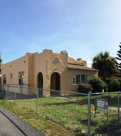 West Palm Beach Multi Family Home For Sale: 610 32nd Street