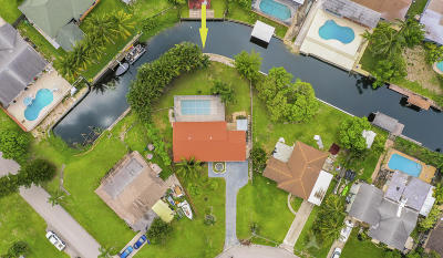 Lake Worth, Lakeworth Single Family Home For Sale: 6933 Bayshore Drive