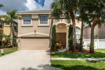Royal Palm Beach Single Family Home For Sale: 1279 Gembrook Court