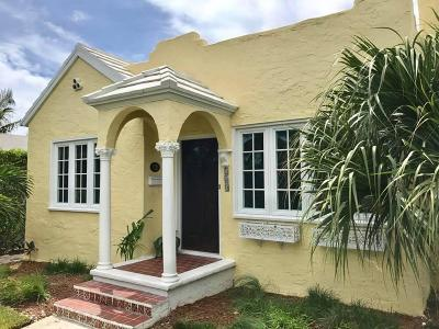 West Palm Beach Single Family Home For Sale: 240 Conniston Road