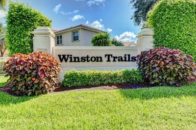Lake Worth, Lakeworth Single Family Home For Sale: 6775 Lake Nona Place