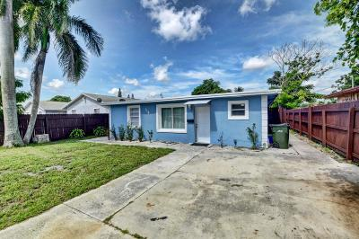 Delray Beach Single Family Home For Sale: 118 SW 12th Avenue