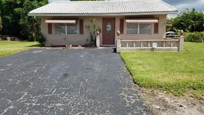 Tamarac Single Family Home For Sale: 7211 NW 76th Street