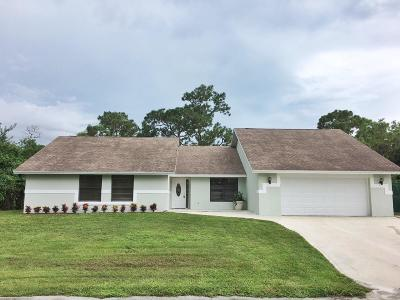 Royal Palm Beach Single Family Home For Sale: 11352 49th Street