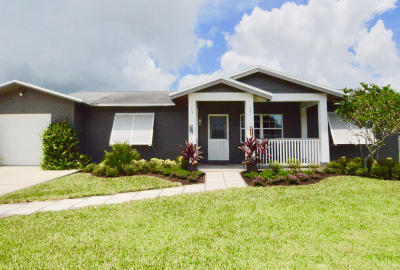 Palm City Single Family Home For Sale: 3176 SW Areca Drive