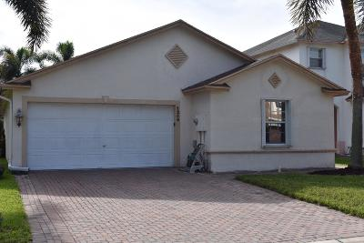West Palm Beach Single Family Home For Sale: 1250 Winding Rose Way