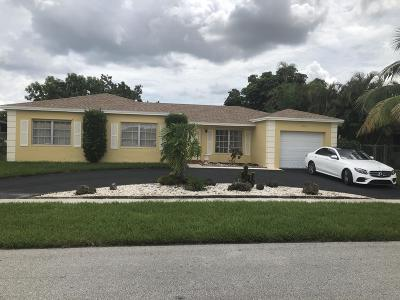 Broward County Single Family Home For Sale: 8202 NW 73rd Avenue