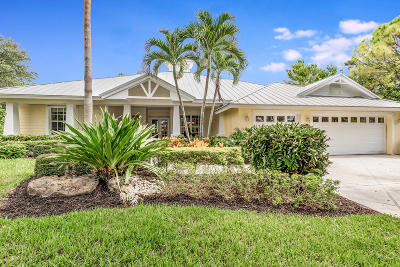 Hobe Sound Single Family Home For Sale: 8081 SE SEquoia Drive