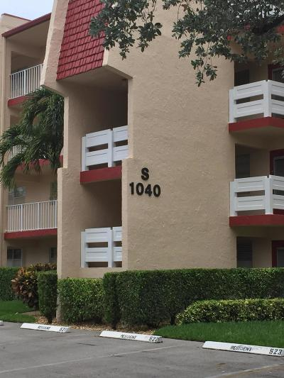 Broward County Condo For Sale: 1040 Country Club Drive #109