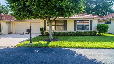 boynton beach Single Family Home For Sale: 9955 Pyracantha Tree Terrace #B