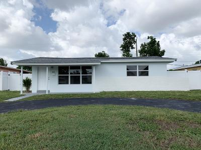 Broward County Single Family Home For Sale: 7759 Panama Street