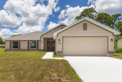 Single Family Home For Sale: 5811 Balsam Drive