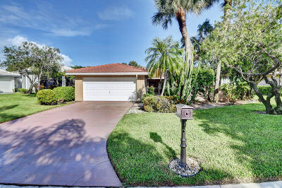 Boynton Beach Single Family Home For Sale: 23 Estate Drive