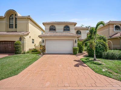 Boca Raton Single Family Home For Sale: 9124 Villa Portofino Circle