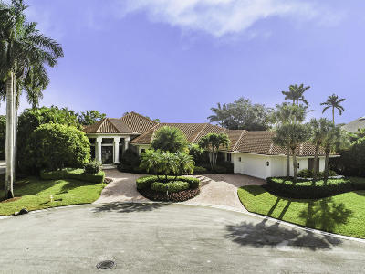 Palm Beach Gardens Single Family Home For Sale: 3330 St Malo Court