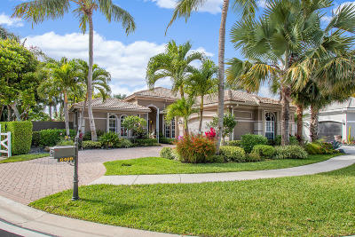 Delray Beach Single Family Home For Sale: 6469 Polo Pointe Way
