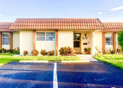West Palm Beach Condo Contingent: 5730 Fernley Drive E #57
