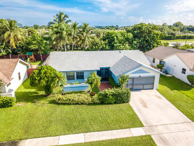 Boca Raton Single Family Home For Sale: 9199 Edgemont Lane