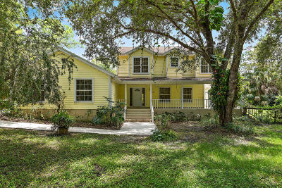 Palm Beach County Single Family Home For Sale: 16840 113th Trail