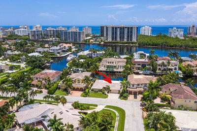 Boca Raton Single Family Home For Sale: 7320 NE Bay Cove Court