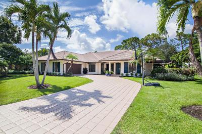 Palm Beach Gardens Single Family Home Contingent: 4 Berwick Road