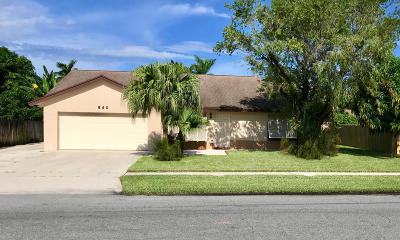 Boynton Beach Single Family Home For Sale: 640 NW 10th Court