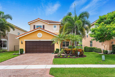 Boynton Beach Single Family Home For Sale: 10761 Emilia Isles Terrace