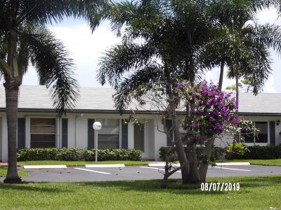 Delray Beach Condo For Sale: 5348 Poppy Place #B