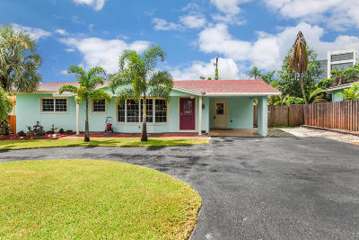 Boynton Beach Single Family Home For Sale: 146 SW 25th Avenue
