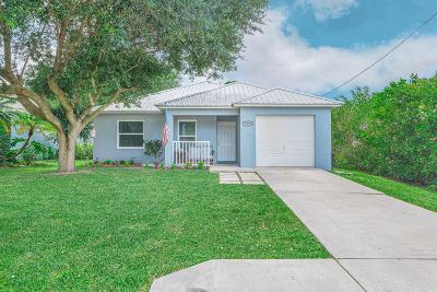 Stuart Single Family Home For Sale: 5508 SE Pine Avenue