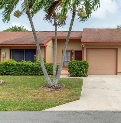 Boynton Beach Single Family Home For Sale: 6 Walcott Drive