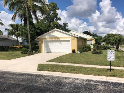 West Palm Beach Single Family Home For Sale: 1281 Slash Pine Circle