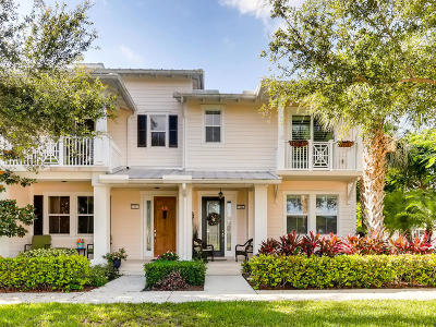 Jupiter Townhouse For Sale: 1346 S Jeaga Drive