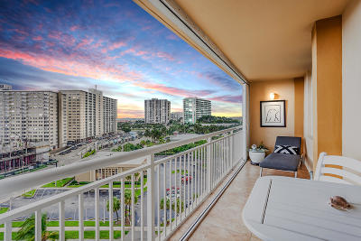 Broward County Condo For Sale: 201 Ocean Boulevard #1007