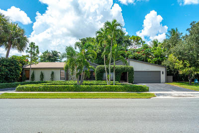 Delray Beach Single Family Home For Sale: 3124 Lakeview Boulevard