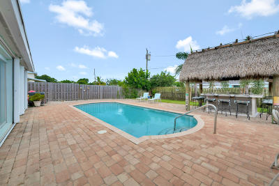 Lake Worth Single Family Home Contingent: 1319 Ontario Drive
