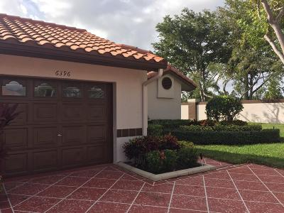 Delray Beach Single Family Home For Sale: 6396 Mill Pointe Circle