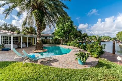 Fort Lauderdale FL Single Family Home For Sale: $789,000