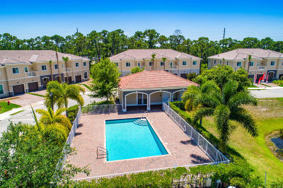Hobe Sound Townhouse For Sale: 6241 SE Fauna Terrace #801
