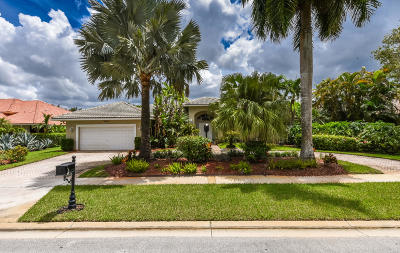 Boca Raton Single Family Home For Sale: 10595 Stonebridge Boulevard