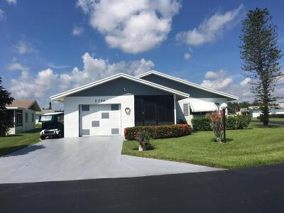 West Palm Beach Single Family Home For Sale: 5374 Belleville Road