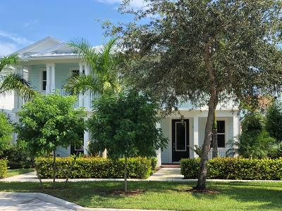 Jupiter Single Family Home For Sale: 1161 Dakota Drive