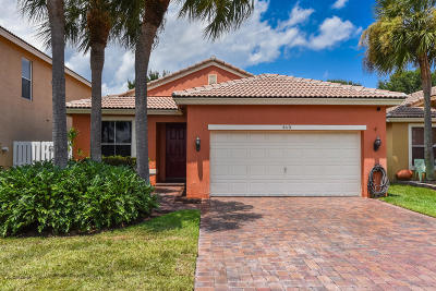 Lake Worth Single Family Home For Sale: 5113 Massy Drive