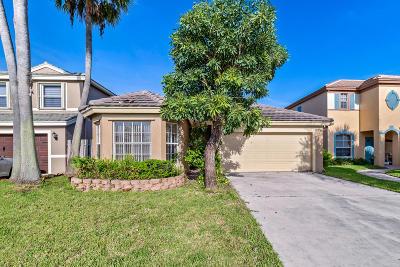 Lake Worth Single Family Home For Sale: 7583 Savannah Lane