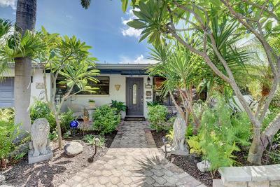 Broward County Single Family Home For Sale: 3246 NE 27 Ter Terrace