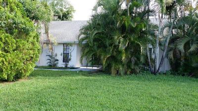 Boynton Beach Single Family Home For Sale: 4380 Palo Verde Drive