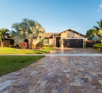 Boca Raton Single Family Home For Sale: 9510 Ohio Place