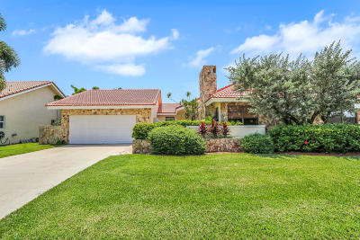 Boca Raton Single Family Home For Sale: 5678 Boca Chica Lane
